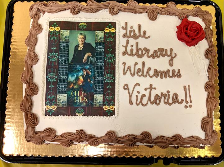 Victoria Thompson City of Lies Cake