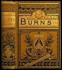 Bound copy of Burns Poetry graphic