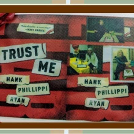 "Close-up on Hank's ""Trust Me"" Cake"