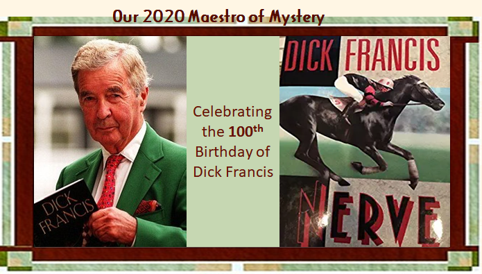 Our 2020 Maestro Dick Francis graphic