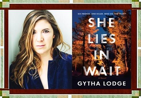 Gytha Lodge & She Lies in Wait cover