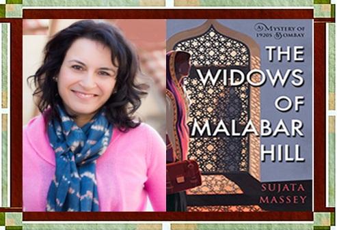 Sujata Massey & Widows of Malabar Cover
