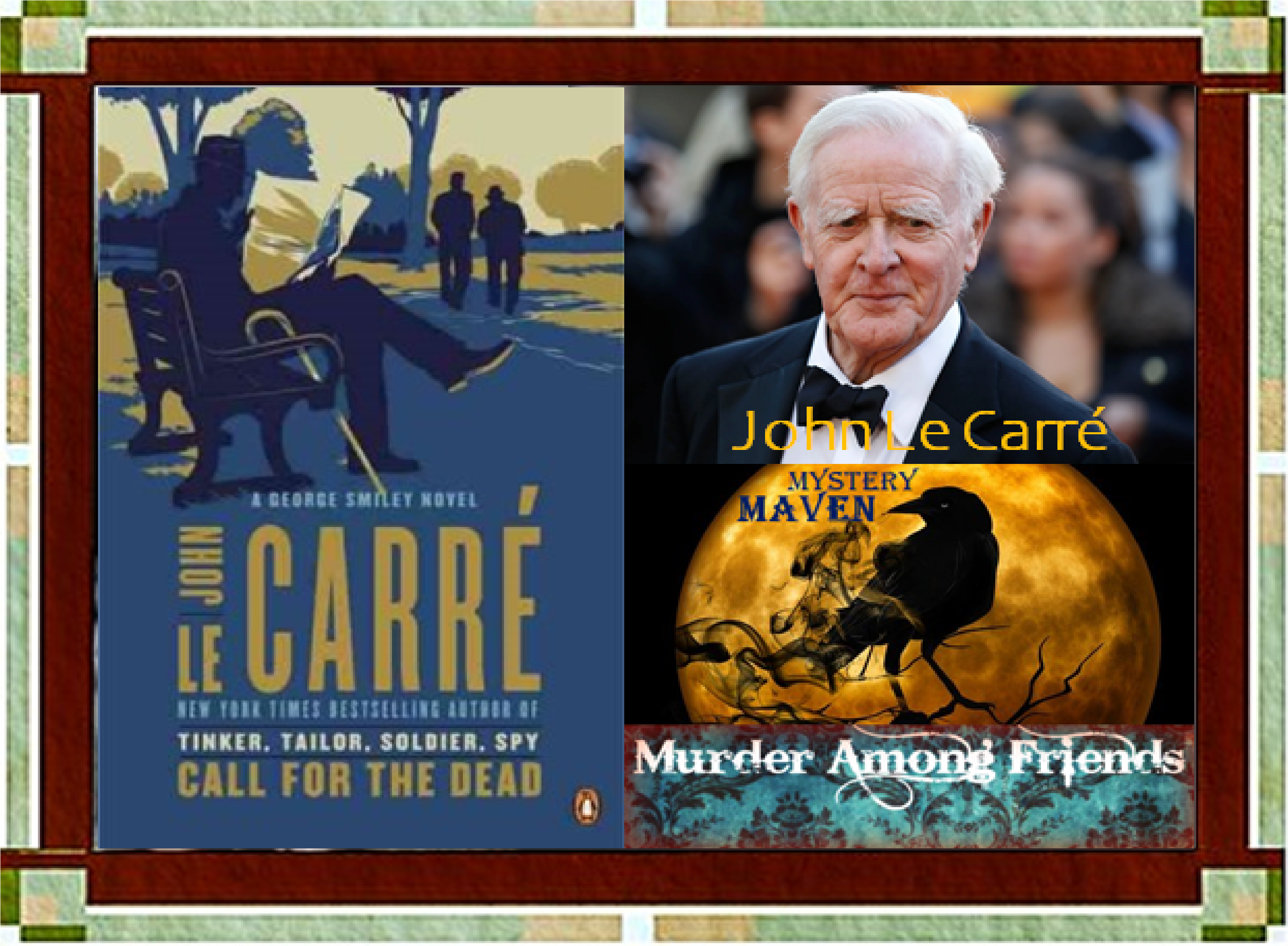 Our 2021 Mavin  of Mystery John Le Carre With Call for Justice Cover